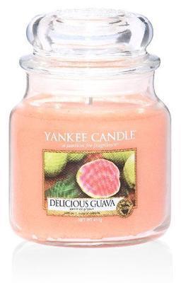Svíčka Delicious Guava - sklo č.2, Yankee Candle