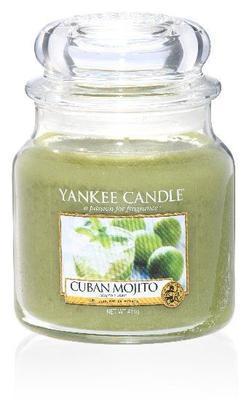 Svíčka Cuban Mojito - sklo č.2, Yankee Candle