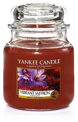 Svíčka Vibrant Saffron - sklo č.2, Yankee Candle