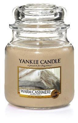 Svíčka Warm Cashmere - sklo č.2, Yankee Candle