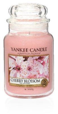 Svíčka Cherry Blossom - sklo č.3, Yankee Candle