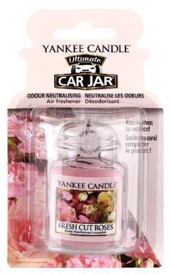 Vůně do auta Fresh Cut Roses, Yankee Candle