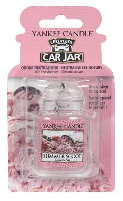 Vůně do auta Summer Scoop, Yankee Candle