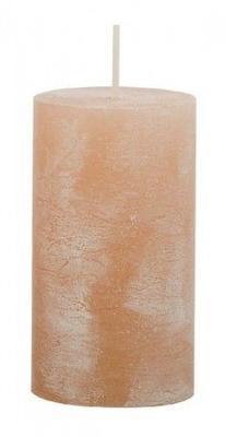 Svíčka válec IRIS 50x90 mm - krémová, Svíčky UNI