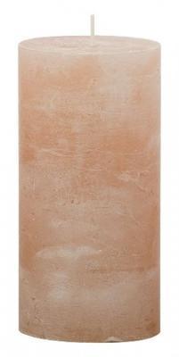 Svíčka válec IRIS 70x140 mm - krémová, Svíčky UNI