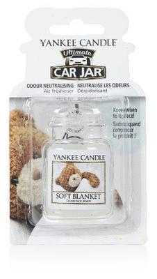 Vůně do auta Soft Blanket, Yankee Candle