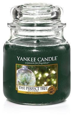 Svíčka The Perfect Tree - sklo č.2, Yankee Candle