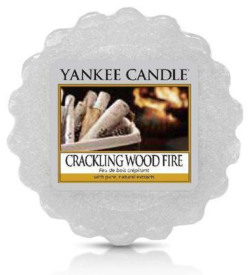 Vosk Crackling Wood Fire, Yankee Candle