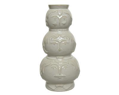 Váza, 24cm, ivory, porcelán, Kaemingk