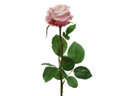 Růže, 66cm, světle růžová, Kaemingk