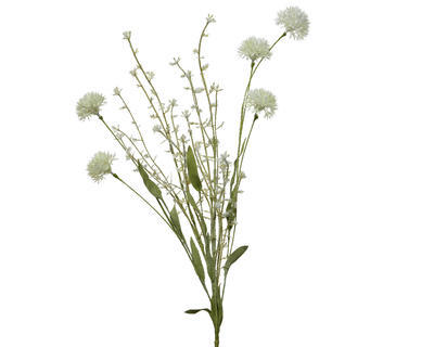 Svazek jarního kvítí, 6x22x60cm, krémová, Kaemingk