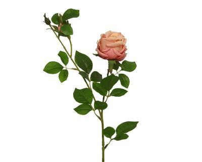 Růže s poupětem, 62cm, broskvová, Kaemingk