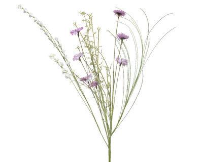 Svazek - mix květin, 13x20x60cm, růžový, Kaemingk