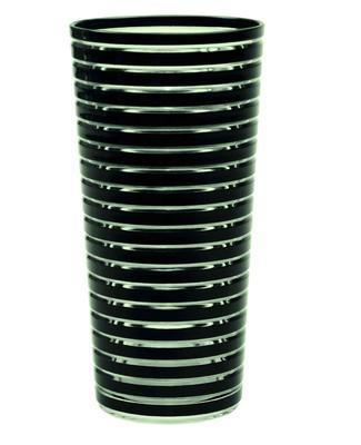Sklenice SWIRL 600 ml - černá, Zak!