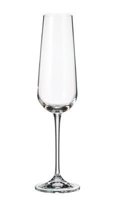 Sklenice na sekt AMUNDSEN / ARDEA 220 ml, Crystalite Bohemia