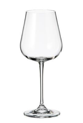 Sklenice na červené víno AMUNDSEN / ARDEA 450 ml, Crystalite Bohemia