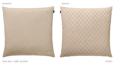 Povlak dekorační na polštář J! GRACE 50x50 cm - natur, JOOP!