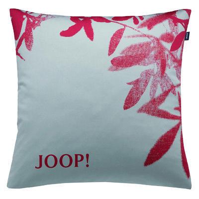 Povlak dekorační na polštář J! NOVA 50x50 cm - grau/rot, JOOP!
