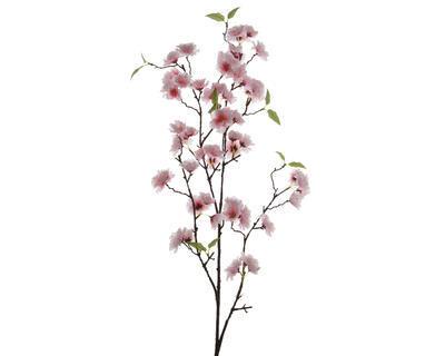 Větvička TŘEŠEŇ ROZKVETLÁ 112 cm - růžová, Kaemingk