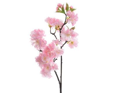 Větvička TŘEŠŇOVÝ KVĚT 90 cm - růžová, Kaemingk