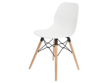 Židle jídelní BÍLÁ 46,5x46x83,5cm, Kaemingk