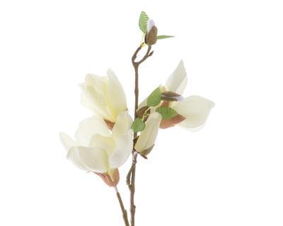 Větvička MAGNOLIA 48 cm - bílá, Kaemingk