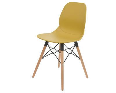 Židle jídelní ŽLUTÁ 46,5x46x83,5cm, Kaemingk