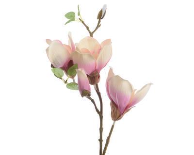 Větvička MAGNOLIA 48 cm - sv. růžová, Kaemingk