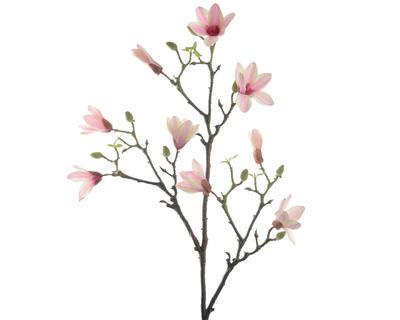 Větvička MAGNOLIA 90 cm - sv. růžová, Kaemingk