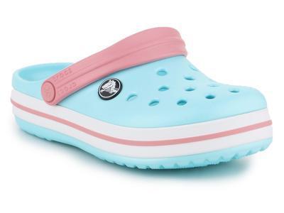 Dětské boty CROCBAND Clog Light Blue/White vel. 32-33, Crocs