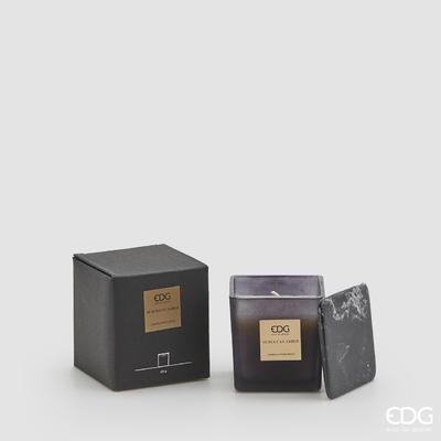 Svíčka vonná CANDELA C/VETRO CUBO 220 g - Moroccan Amber, EDG