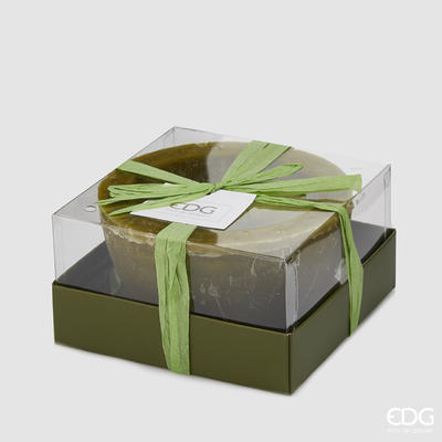 Svíčka vonná CANDELA VASO GREEN 7,5 cm - zelená, EDG