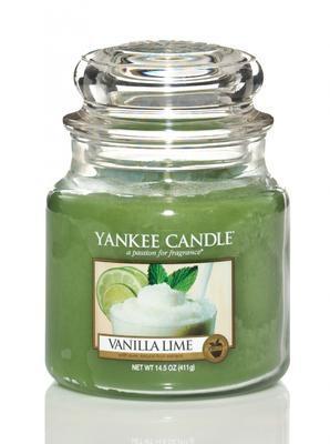 Svíčka Vanilla Lime - sklo č.2, Yankee Candle