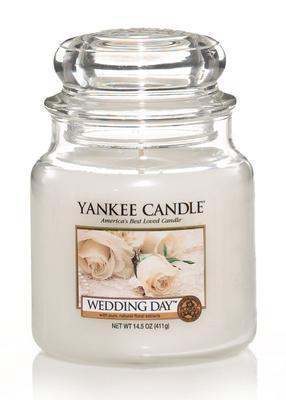 Svíčka Wedding Day - sklo č.2, Yankee Candle