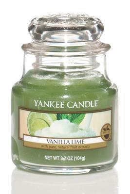 Svíčka Vanilla Lime - sklo č.1, Yankee Candle