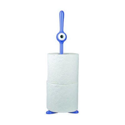 Stojan na toaletní papír TOQ modrá, Koziol