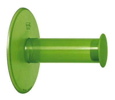 Držák na toaletní papír PLUG ´N ROLL zelená, Koziol