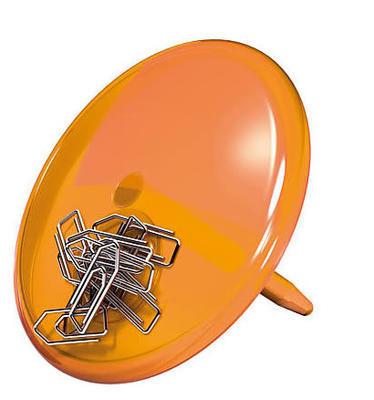 Magnet. držák PINN transp. oranžová , Koziol