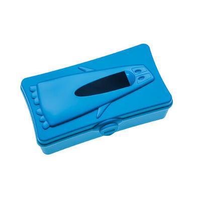 Schránka na kapesníčky PING PONG karibská modrá, Koziol