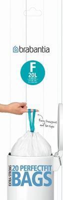 Pytle odpadkové PERFECT FIT-SLIMLINE 20l/20ks (F), Brabantia