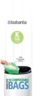 Pytle kompostovatelné PERFECT FIT 10l/10ks (K), Brabantia