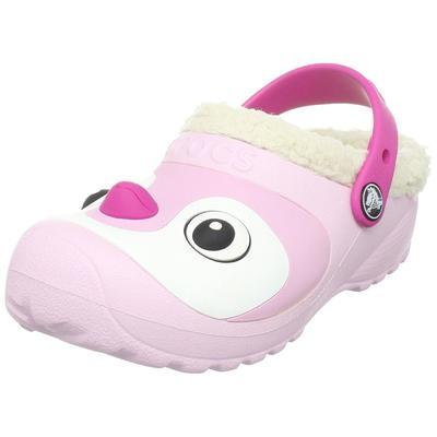 Boty PENGUIN LINED CLOG C6/7 bubblegum, Crocs