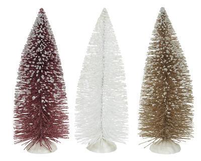 Vánoční dekorace - Stromeček s glitry 23 cm, Kaemingk