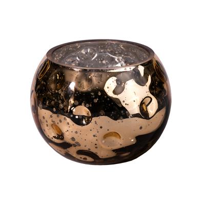 """Svícen SILVERY BALL """"S"""" 13x13x10 cm - bronz, Wittkemper"""