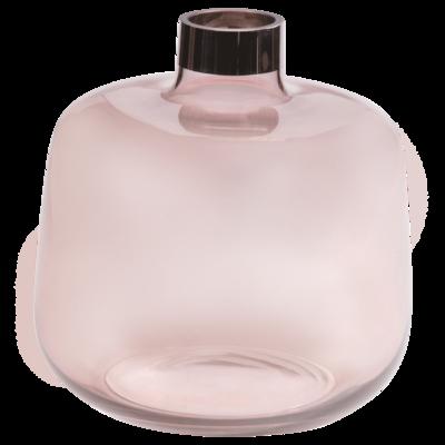 """Váza CLAIRE """"L"""" 25x25x25 cm - růžová, Wittkemper"""