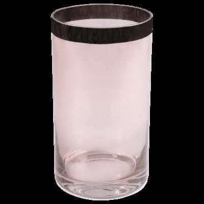Váza / svícen PENELOPE 25 cm - růžový, Wittkemper