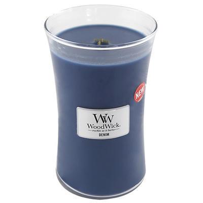 Svíčka vonná - Džínovina - 609,5 g, WoodWick