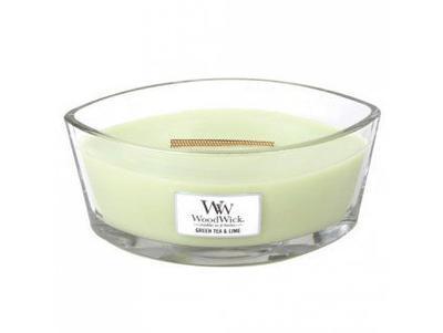 Svíčka 453,6 g Sweet Lime Gelato HEARTHWICK  WoodWick
