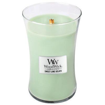 Svíčka 609,5 g Sweet Lime Gelato, WoodWick