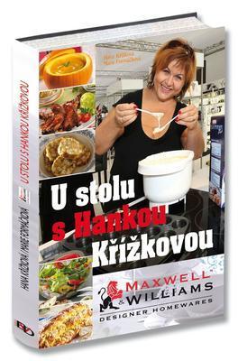 "Kuchařka ""U stolu s Hankou Křížkovou"", Maxwell & Williams"